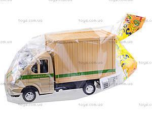 Инерционный игровой грузовик, 55089, магазин игрушек