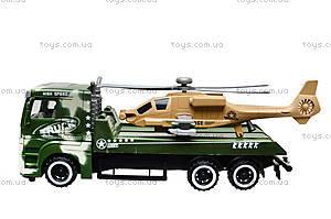 Инерционный грузовик с вертолётом, 777B-5, цена