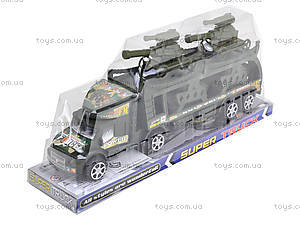 Инерционный грузовик с танками, 138-37W, фото