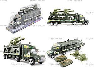 Инерционный грузовик с танками, 138-37W