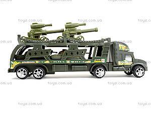Инерционный грузовик с танками, 138-37W, toys