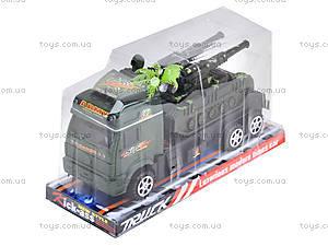 Инерционный грузовик с техникой, 5359-8A, toys.com.ua