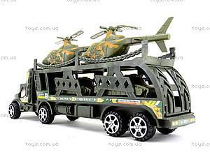 Грузовик с военныими вертолетами, 138-38W, игрушки