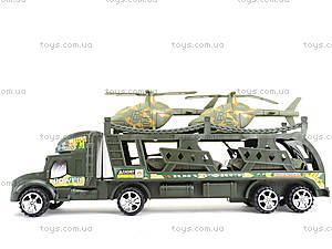 Грузовик с военныими вертолетами, 138-38W, toys.com.ua