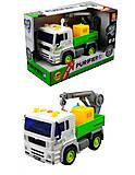 Инерционный грузовик типа мусоровоз, WY520C, фото