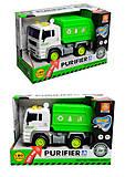 Инерционный грузовик со светоэффектами, WY520A, фото