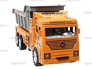 Инерционный грузовик с откидным кузовом, 6609, купить