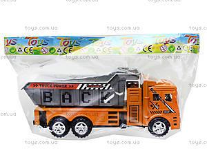 Инерционный грузовик с откидным кузовом, 6609, фото