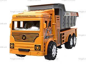 Инерционный грузовик с откидным кузовом, 6609, отзывы