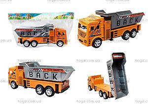 Инерционный грузовик с откидным кузовом, 6609