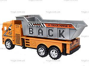Инерционный грузовик с откидным кузовом, 6609, магазин игрушек