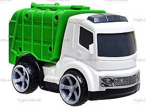 Игрушечный грузовик «Мусоровоз», 933-10, фото