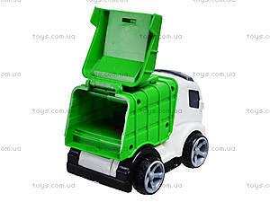 Игрушечный грузовик «Мусоровоз», 933-10, игрушки