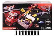 Грузовик - запуск «Тачки» (красный), HT510, магазин игрушек