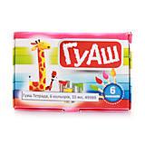 Гуаш 6 цветов 10 мл (70 гр.), 6 наборов в упаковке, ТЕ291, магазин игрушек