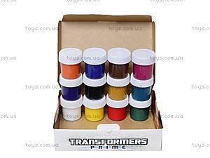 Гуашь «Трансформеры», 12 цветов, , фото