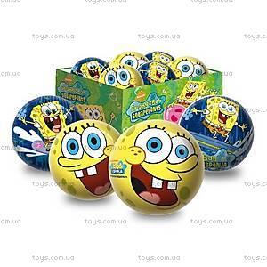 Резиновый мяч «Губка Боб», 14 см, 1318