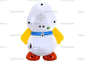 Интерактивная игрушка «Гусёнок», 1372R, детские игрушки