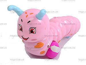 Заводная игрушка «Гусеница» для ребенка, 699, детские игрушки