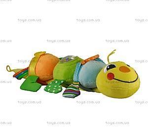 Мягкая развивающая игрушка «Гусеница Дарси», GDA0\M