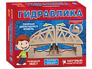 Гидравлический конструктор «Разводной мост», 75 деталей, 15205001Р, фото