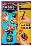 Гипсовый барельеф «Сказки», РГБ-02-08