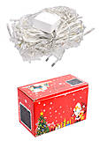 Гирлянда-штора цветная, 100 лампочек, C22402