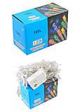 Гирлянда светодиодная для дома, 100 лампочек, 01222, фото