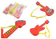 Детская «Гитара», 4 цвета , YY02-58916, фото