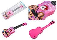 Гитара-игрушка 3 вида, 367-13A15A16A