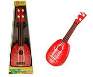 Гитара детская «Клубника», 819-20, отзывы