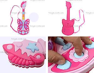 Детская музыкальная гитара в форме бабочки, 663