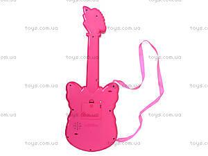 Детская музыкальная гитара в форме бабочки, 663, toys.com.ua