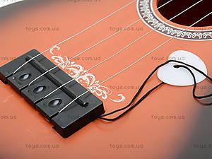 Струнная гитара в чехле для будущих музыкантов, 8022A, фото