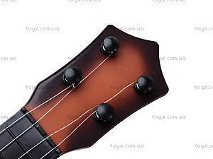 Детская игрушка «Гитара струнная», 8023A, фото