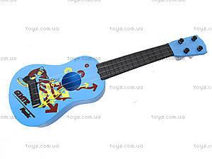 Детская гитара струнная, B-68D, игрушки