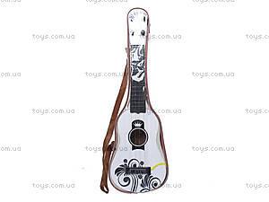 Детская гитара струнная, B-68D, детские игрушки