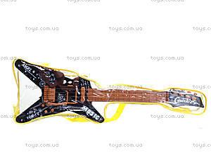 Гитара струнная в сумке, Q640-6A, детские игрушки