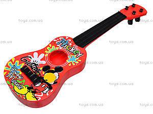 Гитара струнная Mickey Mouse, Q649, цена