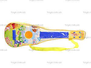 Струнная гитара «Винни Пух», «Тачки», Q650-2A3A, отзывы