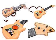 Музыкальная гитара в чехле, 6816B2(1424809), фото