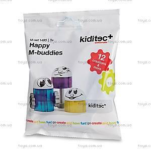 Детский конструктор Kiditec Happy M-Buddies, 1480