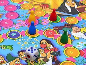 Игра-бродилка «Белоснежка и 7 гномов», , цена