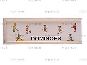 Игра «Домино», из дерева, 2012-9, фото