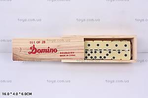 Игра «Домино», в деревянном футляре, 4006D