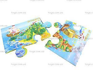 Игра-пазл «Приключения динозавриков», ИHX-001...004, цена
