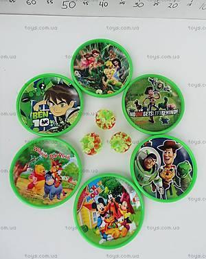 Игра «Перчатка и мяч» с героями мультфильмов, W02-1227