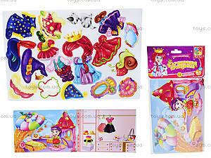 Игра с мягкими наклейками «Клубничная принцесса», VT4206-15, цена