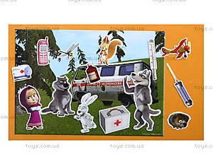 Игра с мягкими наклейками «Маша и Медведь», VT4206-1920, детские игрушки