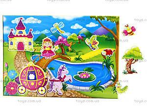 Игра с мягкими наклейками «Принцесса и рыцарь», VT4206-17, купить